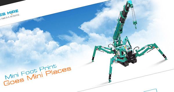 Mini Cranes Hire